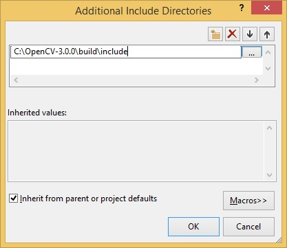 Additional Include Directories